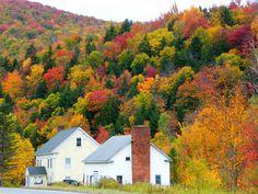 "fortheloveofautumn: "" New England Autumn by Stanley Zimny """