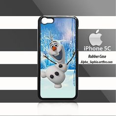 Olaf Frozen iPhone 5c Rubber Case Cover