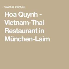 Hoa Quynh - Vietnam-Thai Restaurant in München-Laim