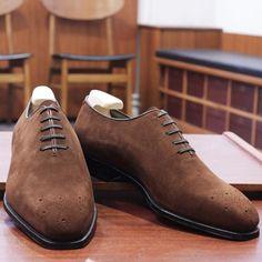 http://chicerman.com  skoaktiebolaget:  Enzo Bonafe MTOs for our friend @dannefalk . #enzobonafe #bonafe #skoaktiebolaget #mensshoes #classicshoes #shoes #mensstyle #menswear #style #elegance #artisan #madeinitaly #handmade  #menshoes