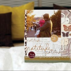 .@northridgepublishing | #tbt to this gorgeous layout from our November 2011 Scrapbook Trends that we ... | Webstagram