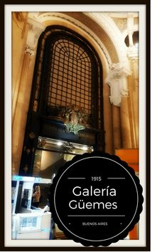 Galería Güemes is an Art Nouveau shopping mall opened in 1915 in the famous Calle Florida in Buenos Aires. Its observation deck offers views. Solo Travel, Travel Usa, Travel Tips, Canada Travel, Travel Advice, Travel Ideas, Travel Destinations, Machu Picchu, Titicaca