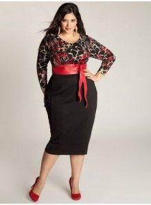 3435ac7c278 Make a lasting impression in this elegant Bridgitte Plus Size Sweater Dress  by IGIGI . You