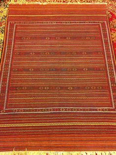handmade Fine Afghan Kilim. Made in Hirat by customdesignmaster, $209.99