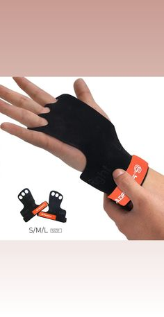 ce1459b42bf8 3 HOLE FINGERS GRIP protect your hands and palms during Pull ups, Chest to  bar
