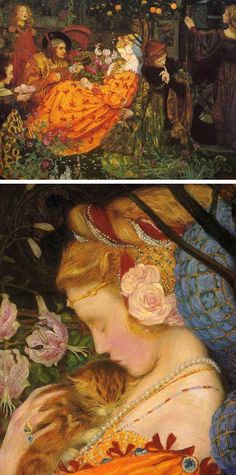 Eleanor Fortescue-Brickdale (English, 1871-1945). The Deceitfulness of Riches, 1901