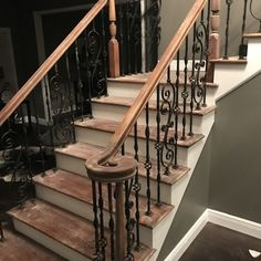 Best Wrought Iron Railings Stairs In 2019 Iron Staircase 400 x 300