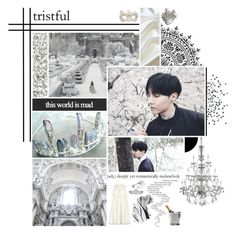 """the prince's white dream"" by bangtan-life ❤ liked on Polyvore featuring art"