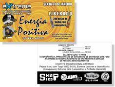 Energia Positiva - Extreme (Convite)