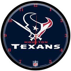 """NFL Team Wall Clocks 12.75"""""""