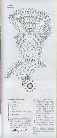 Crochet Doily Diagram, Crochet Doily Patterns, Filet Crochet, Irish Crochet, Crochet Designs, Crochet Doilies, Crochet Hats, Crochet Top, Crochet Symbols