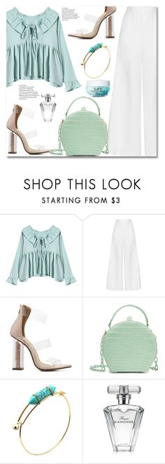 """""""#21"""" by aida-nurkovic ❤ liked on Polyvore featuring Miguelina, Nancy Gonzalez, Avon and Christian Dior"""