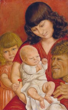 Otto Dix (Germany, 1891-1969)The family of the artist (Die...