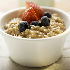 Get healthy with whole grains! Try these yummy oat-based recipes, like this spiced chai oatmeal, for every day of the week. | Health.com