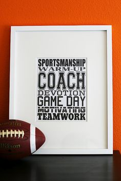 Coach Subway Art Printable