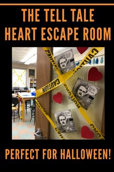 """The Tell Tale Heart"" Escape Room for Grades. by Read it Write it Learn it Teaching Activities, Teaching Writing, Teaching English, Teaching Themes, 8th Grade Ela, 6th Grade Reading, Ela Classroom, English Classroom, Escape Room"
