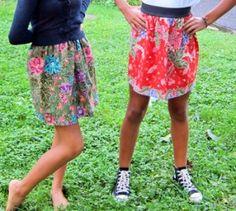 Lotus Teen Batik Skirt