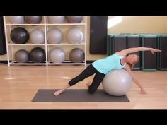 Stretches & Exercises With a Yoga Ball : Yoga Tips. Beyond Fit, LLC aka Marianne Park teaches Stability Ball class 2/week.