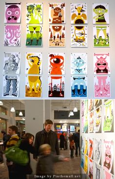 MONSTER MIX UPS by Tad Carpenter - created via http://pinthemall.net