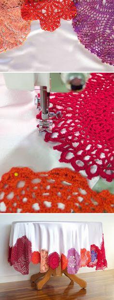 Accesorios de color rosa en tejido de punto y ganchillo: Tutoriales