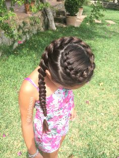 Crown Dutch Braid More - Best Picture For baby girl hairstyles petite fille For Baby Girl Hairstyles, Princess Hairstyles, Braided Hairstyles, Cool Hairstyles, Braided Updo, Protective Hairstyles, Wedding Hairstyles, Hairstyle Ideas, Elsa Hairstyle