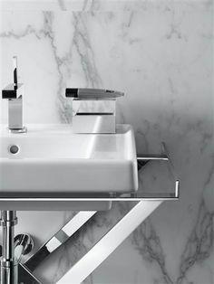 antonio citterio patricia viel and partners Industrial Design, Sink, Art Deco, Cool Stuff, Interior, Furniture, Bathroom Ideas, Bathing, Minimalism
