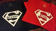 Check out this item in my Etsy shop https://www.etsy.com/listing/251868764/superman-bride-maid-of-honor-bridesmaid