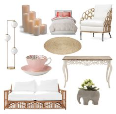 """""""décor"""" by memowitta on Polyvore featuring interior, interiors, interior design, home, home decor, interior decorating, Odelia, Frontgate, Chive and Royal Albert"""