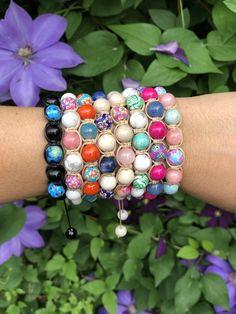 Colorful shamballa bracelet Turquoise Bracelet, Beaded Bracelets, Colorful, Collection, Jewelry, Design, Fashion, Moda, Jewlery