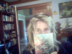 My FAVE Author MaryLu Tyndall with her latest release... Elusive Hope... book 2 in her Escape to Paradise series!!!