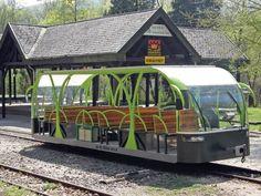 Hungary's Borzsony solar-powered electric passenger railcar