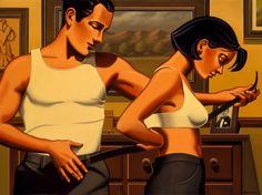 Paintings - An Accidental Dance - Kenton Nelson