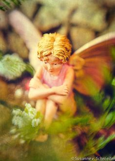 Fairy Photos Kid's Wall Art Pink Girl by SoulCenteredPhotoart, $14.00