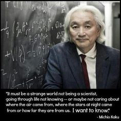 mostly agree, but I think he means 'not being scientifically literate'. Cause knowledge of science is not limited to science grads or practicing scientists. Sincerely, a curious engineer