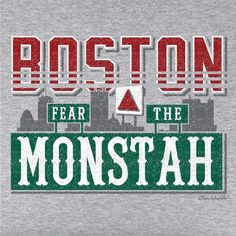 This t-shirt has it all, complete with the Boston skyline! If you're a fan of Boston Baseball, you need this tee! Opposing teams take heed, the monstah is mean, Boston Baseball, Red Sox Baseball, Baseball Socks, Better Baseball, Boston Sports, Boston Red Sox, Boston Skyline, Red Sox Nation, Boston Strong