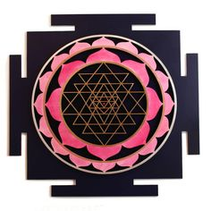 Sri Yantra | From a unique collection of abstract sculptures at https://www.1stdibs.com/art/sculptures/abstract-sculptures/