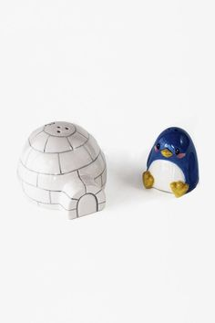 Penguin And Igloo Set #SaltandPepperShakers - Urban Outfitters