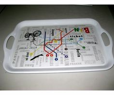 Melamine Tray, Container