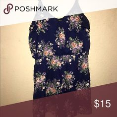 Floral Romper Only worn once! Great condition! Other
