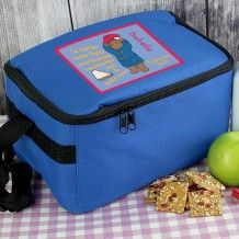 Send your kid's lunch to school or nursery in this fun and bright blue cool bag. Personalized Lunch Bags, Personalized Gifts, Christmas Stocking Fillers, Christmas Gifts, Paddington Bear, Bear Design, Back To School Gifts, Insulated Lunch Bags, Unique Presents