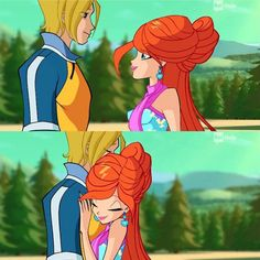 S7 winxclub bloom and Sky