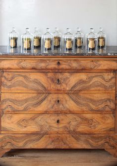 Spectacular 19th century chest. Basically the nursery changing table of my dreams.