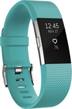 Fitbit Charge 2 Heart Rate and Fitness Wristband, Blue