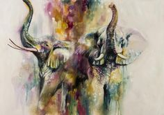 Browse and buy the latest artwork from the artist Katy Jade Dobson. Buy prints and original art by Katy Jade. World Elephant Day, Thai Art, Instagram Artist, Wildlife Art, Limited Edition Prints, Contemporary Artists, In This World, Original Paintings, Oil Paintings