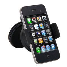 360 Degree Swivel Car Windshield Mount Holder Bracket for iPhone 4/4S, Samsung Galaxy, Ther PDA and Smart Mobile Phones $7.50 (74% OFF) + Free Shipping