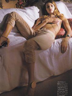 Mona Johannesson | Vogue Japan April 2005