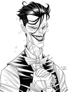 CHARACTER MODEL — lordwanjavi: The Joker Batman by *Tradd