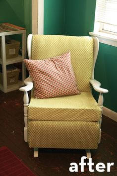 recover nursery rocking chair - Rocking Chairs For Nursery