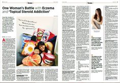 One Woman's Battle With Eczema and 'Topical Steroid Addiction'  Get the May 2017 issue at Kinokuniya Bookstores today!  SG Site: http://epochtimes.today/  Global Site: http://www.theepochtimes.com/
