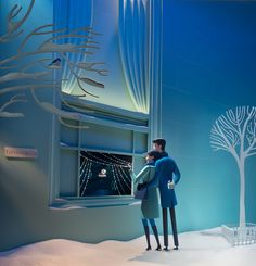 tiffany & Co, Christmas window